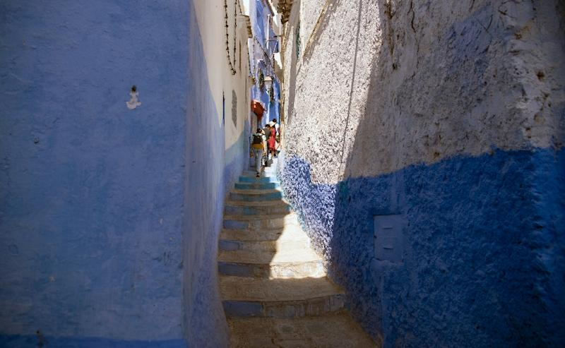 Chefchaouen's mayor says the Moroccan city began to go green more than seven years ago (AFP Photo/FADEL SENNA)