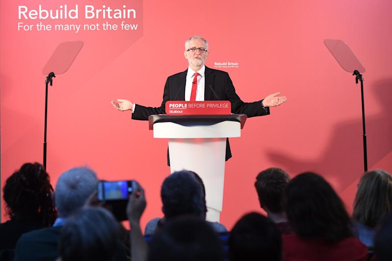Labour leader Jeremy Corbyn (Photo: PA Wire/PA Images)