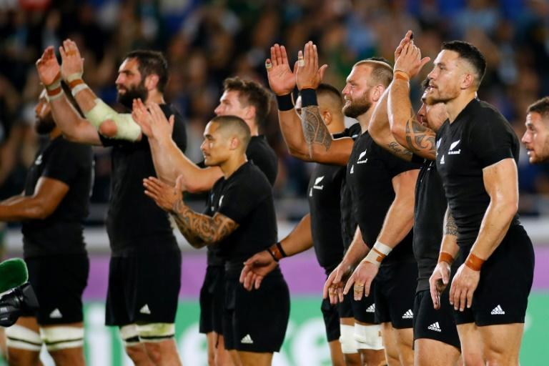 It was a famous win for the All Blacks (AFP Photo/Odd ANDERSEN)