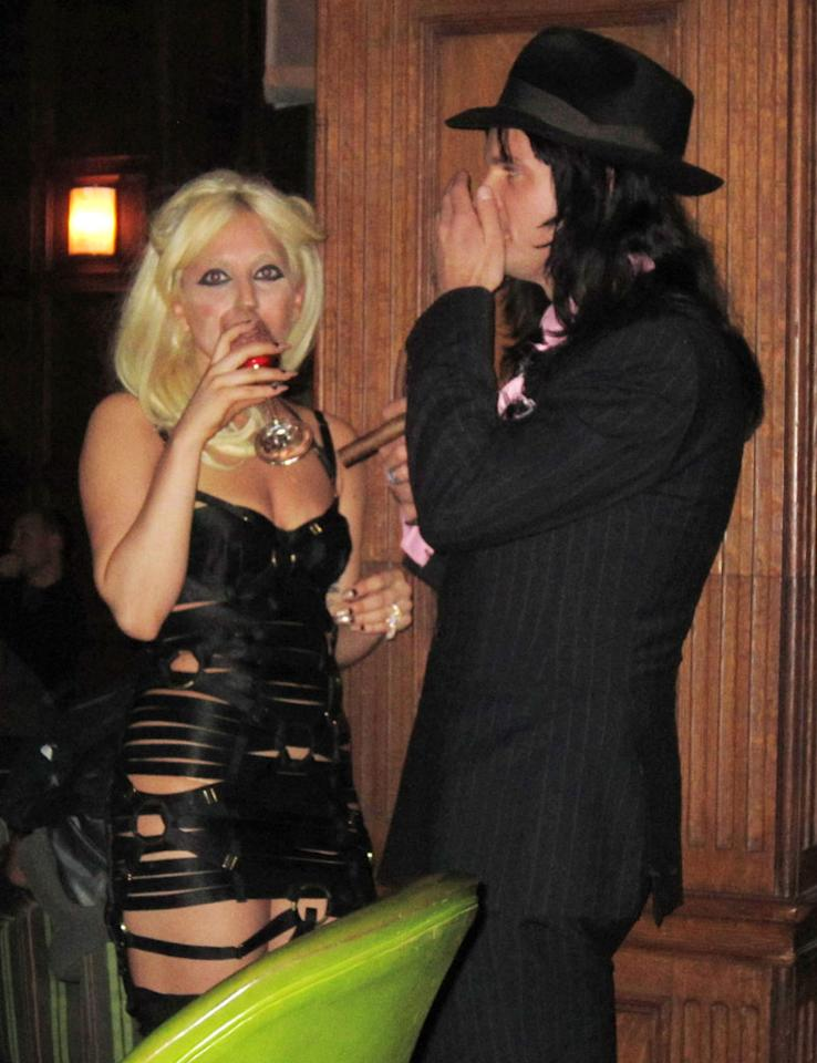"Lady Gaga's 2008 debut album, <em>The Fame</em>, was largely inspired by her failed relationship with NYC bartender Luc Carl, whom she had been with since 2005. Soon after her mega success, the wild pair rekindled the flame and had an on-again, off-again ""Bad Romance"" until it ended for good in 2011. Oddly enough, Gaga met her current boyfriend, ""The Vampire Diaries"" actor Taylor Kinney, when he starred in her video for ""You and I"" -- a song she wrote about Carl. (1/5/2011)"