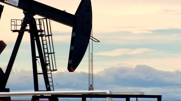 The Petroleum Services Association of Canada increased its estimate this week for the number of wells to be drilled in Canada for 2021 to 4,250 wells, which is up by 650 wells compared to the organization's April forecast . (Kyle Bakx/CBC - image credit)