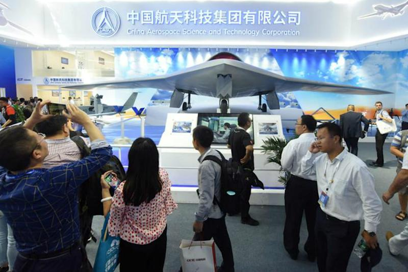 Made in China: Beijing Steps Up Drone Race With Pilotless Aircraft Fitted With AK-47s