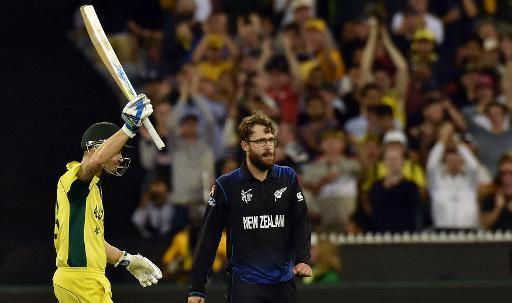 Australia captain Clarke makes fifty in World Cup final
