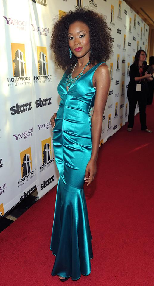 Ariel King attends the 14th Annual Hollywood Awards Gala at the Beverly Hilton Hotel on October 25, 2010.