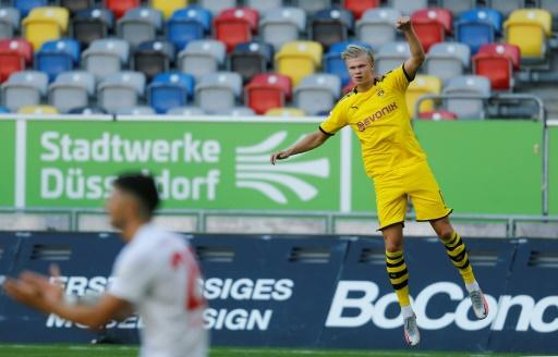 Haaland returned from injury to score an injury-time winner