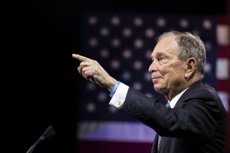Michael Bloomberg would sell his media company if elected president, advisor says