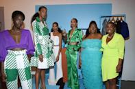 """<p><strong>Brand:</strong> Hanifa</p><p>Designer Anifa Mvuemba's sophisticated designs (sold in sizes 0 to 20) are just the beginning of her innovations. She recently debuted her newest collection in a completely digital, <a href=""""https://www.elle.com/fashion/shopping/a32668939/hanifa-3d-pink-label-congo-fashion-show/"""" rel=""""nofollow noopener"""" target=""""_blank"""" data-ylk=""""slk:3-D fashion show that will blow your mind"""" class=""""link rapid-noclick-resp"""">3-D fashion show that will blow your mind</a>.</p>"""