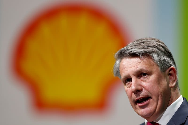FILE PHOTO: Royal Dutch Shell CEO van Beurden speaks during the 26th World Gas Conference in Paris