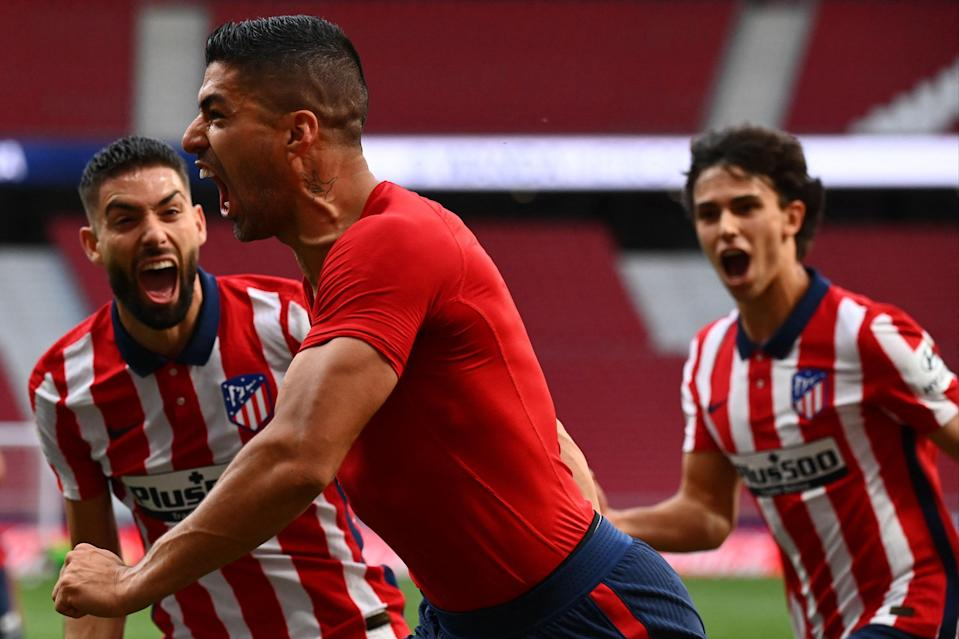 <p>Atletico are one win away from LaLiga glory</p> (AFP via Getty Images)