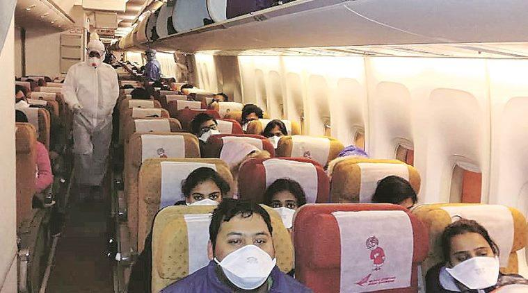 Evacuated from Wuhan, 370 Indians head home, face two-week isolation