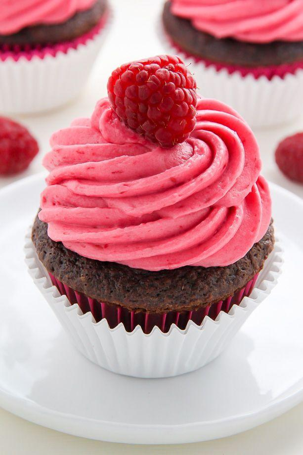 """<p>Look at that gorgeous raspberry frosting! These cupcakes taste even better than they look because they have a hidden Nutella filling.</p><p><strong>Get the recipe at <a href=""""https://bakerbynature.com/nutella-stuffed-chocolate-cupcakes-with-raspberry-frosting/"""" rel=""""nofollow noopener"""" target=""""_blank"""" data-ylk=""""slk:Baker By Nature"""" class=""""link rapid-noclick-resp"""">Baker By Nature</a>.</strong></p><p><strong><a class=""""link rapid-noclick-resp"""" href=""""https://go.redirectingat.com?id=74968X1596630&url=https%3A%2F%2Fwww.walmart.com%2Fsearch%2F%3Fquery%3Dcupcake%2Bliners&sref=https%3A%2F%2Fwww.thepioneerwoman.com%2Ffood-cooking%2Fmeals-menus%2Fg35139389%2Fvalentines-day-cupcake-ideas%2F"""" rel=""""nofollow noopener"""" target=""""_blank"""" data-ylk=""""slk:SHOP CUPCAKE LINERS"""">SHOP CUPCAKE LINERS</a><br></strong></p>"""