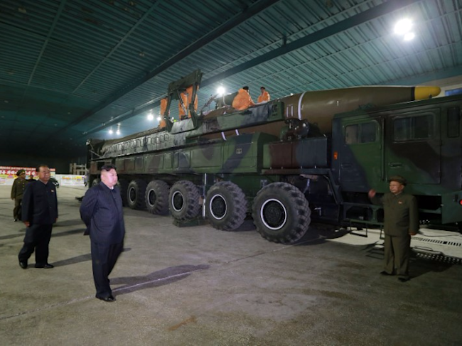 North Korea won't give up nuclear weapons, ballistic missiles for negotiations