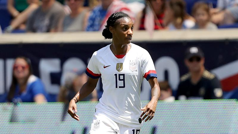 Crystal Dunn USWNT Mexico 05262019