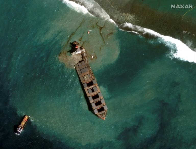 Mauritius oil spill ship operator to pay $9.4 million