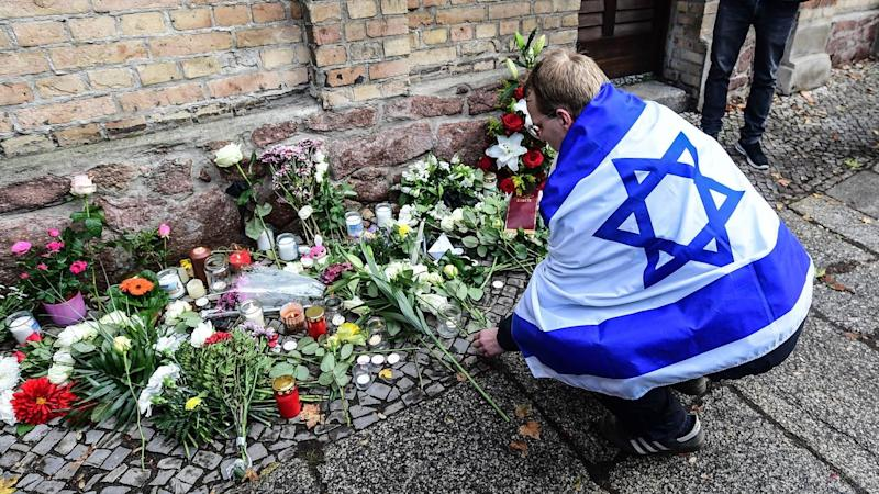 Two people were shot dead near a synagogue in a live-streamed attack in the German city of Halle