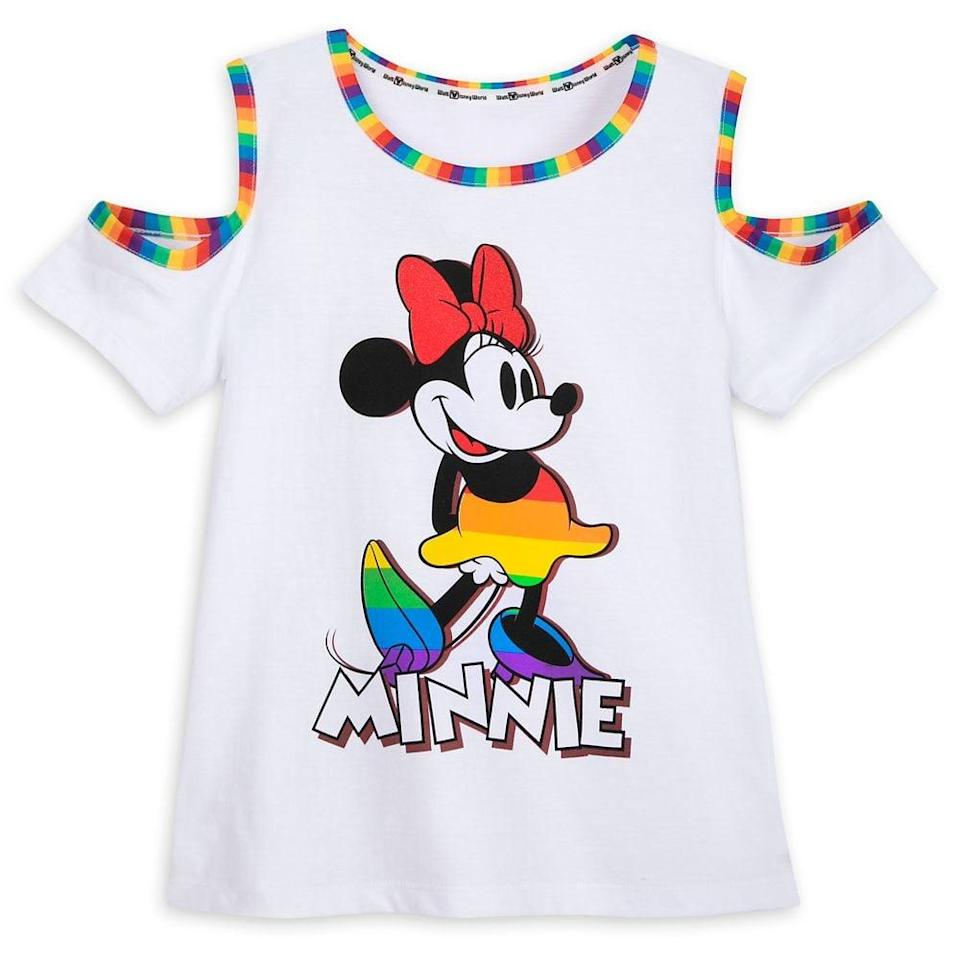 <p>The <span>Minnie Mouse T-Shirt For Kids</span> ($30) is so fashionable.</p>