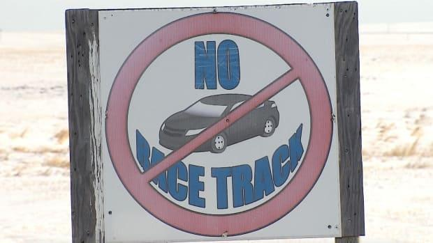 These signs can be seen throughout the Rosebud area.