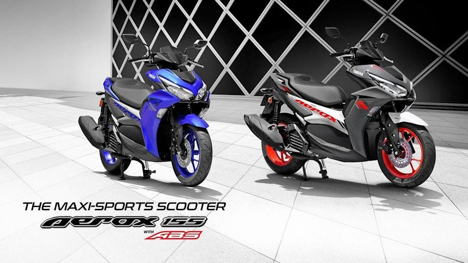 Yamaha AEROX 155 launched in India at Rs. 1.29 lakh