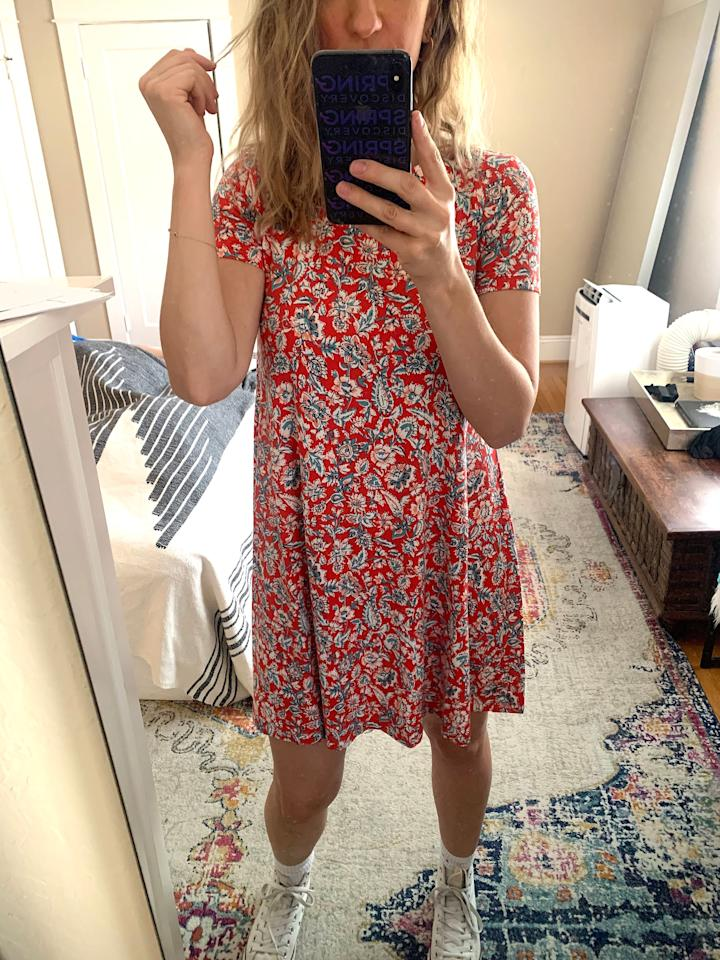 """<p><a href=""""https://www.popsugar.com/buy/Jersey-Swing-Dress-585613?p_name=Jersey%20Swing%20Dress&retailer=oldnavy.gap.com&pid=585613&price=25&evar1=fab%3Aus&evar9=47582000&evar98=https%3A%2F%2Fwww.popsugar.com%2Fphoto-gallery%2F47582000%2Fimage%2F47582331%2FJersey-Swing-Dress-25It-was-truly-so-soft-on&list1=shopping%2Cold%20navy%2Cdresses%2Ceditors%20pick%2Cproduct%20reviews&prop13=api&pdata=1"""" rel=""""nofollow"""" data-shoppable-link=""""1"""" target=""""_blank"""" class=""""ga-track"""" data-ga-category=""""Related"""" data-ga-label=""""https://oldnavy.gap.com/browse/product.do?pid=551793#pdp-page-content"""" data-ga-action=""""In-Line Links"""">Jersey Swing Dress </a> ($25)</p> <p>It was truly so soft on.</p>"""