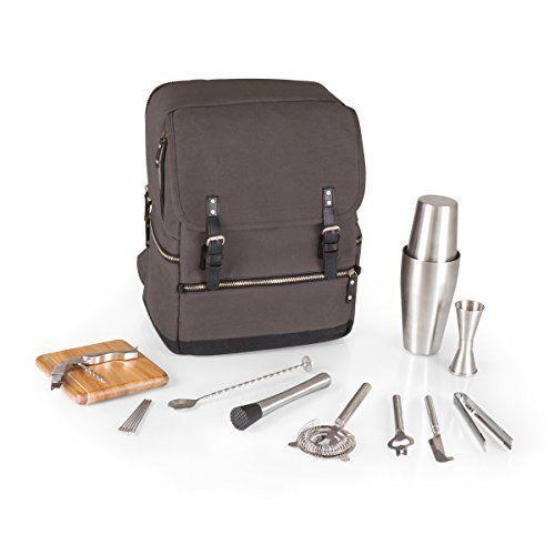"""<p><strong>LEGACY - a Picnic Time Brand</strong></p><p>amazon.com</p><p><strong>$167.64</strong></p><p><a href=""""https://www.amazon.com/dp/B06XRVF1GR?tag=syn-yahoo-20&ascsubtag=%5Bartid%7C1782.g.36255685%5Bsrc%7Cyahoo-us"""" rel=""""nofollow noopener"""" target=""""_blank"""" data-ylk=""""slk:BUY NOW"""" class=""""link rapid-noclick-resp"""">BUY NOW</a></p><p>This sleek backpack includes 16 cocktail tools that you can bring on the go wherever you may need it.</p>"""
