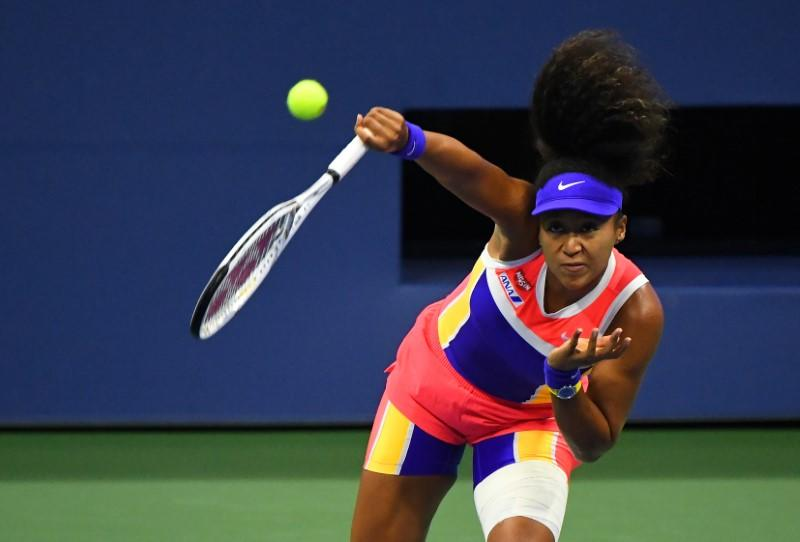 Osaka's activism helping her game, says coach Fissette