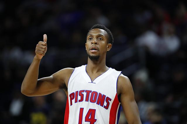 Ish Smith wants Pistons fans to know that everything's going to be OK. (AP)