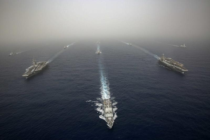 The Abraham Lincoln and John C. Stennis carrier strike groups conducted carrier strike force operations in the U.S. 6th Fleet.