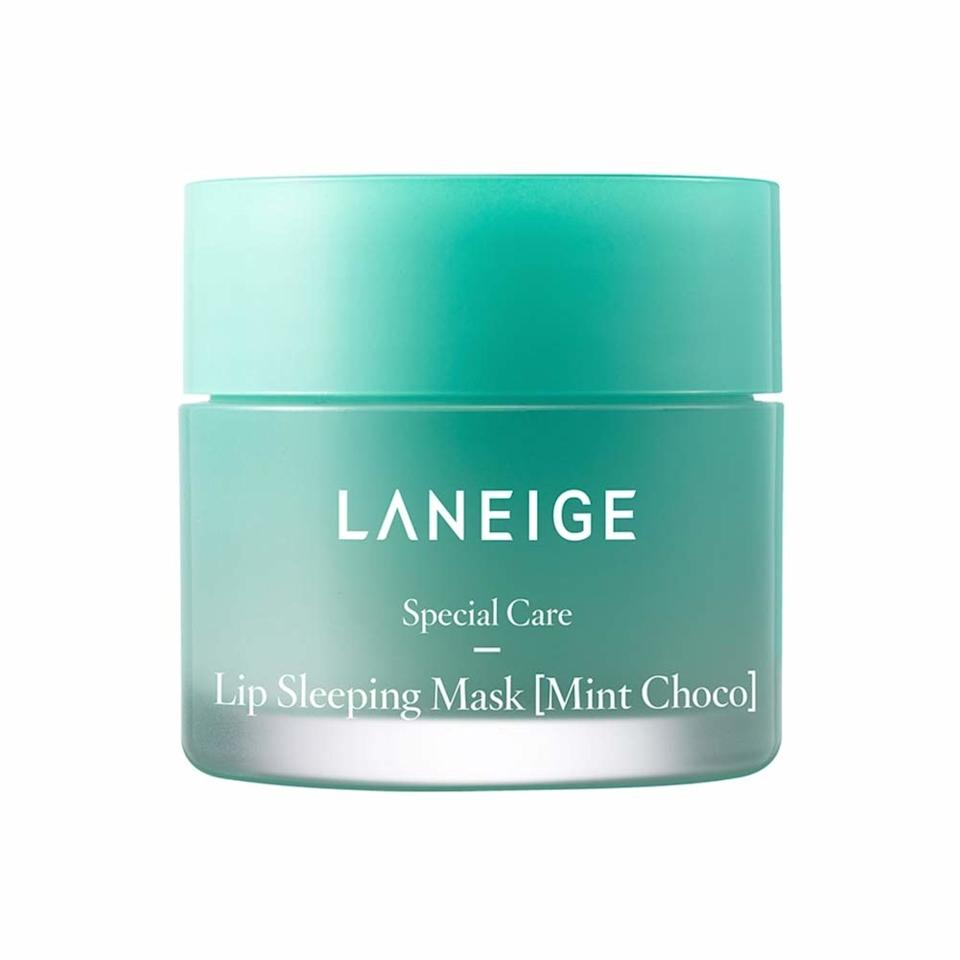 """<p>People who wear lipsticks most days of the week require a little more intensive lip care than average, and that's why Laneige's Lip Sleeping Mask remains a beauty community favorite year after year. The makeup lover in your life likely owns and adores the mask, but they'll be delighted to add this limited-edition mint and chocolate version to their roster.</p> <p><strong>$20</strong> (<a href=""""https://www.sephora.com/product/lip-sleeping-mask-limited-edition-P451004"""" rel=""""nofollow"""">Shop Now</a>)</p>"""