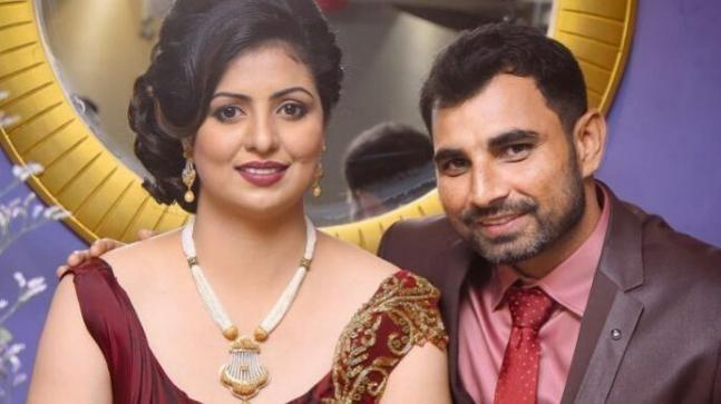 Mohammed Shami and his wife Hasin Jahan