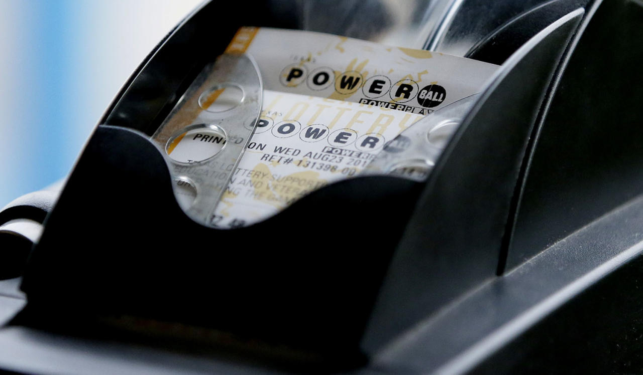 <p>A Powerball lottery ticket is printed on a lottery machine at a convenience store in Dallas, Aug. 23, 2017. Lottery officials said the grand prize for Wednesday night's drawing has reached $700 million. The second -largest on record for any U.S. lottery game. (Photo: LM Otero/AP) </p>