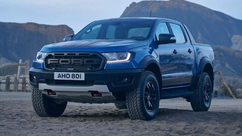 Ford Ranger Raptor Special Edition truck, with visual upgrades, revealed