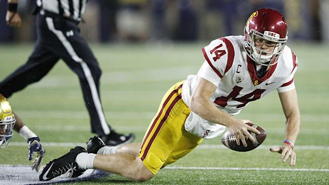 USC was exposed in a big way against Notre Dame on Saturday. It's evident now the Trojans were never national title contenders this season.