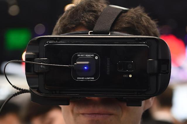 Virtual reality has the potential to revolutionise sport, say experts (AFP Photo/Josep LAGO)