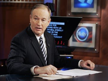 Bill O'Reilly versus Washington Post columnist