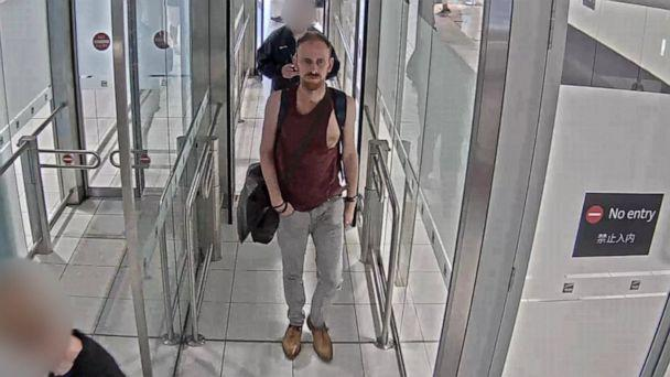 PHOTO: Anthony Stott is seen at Australia's Brisbane Airport on Feb. 9, 2020, a day before he was killed. (New South Wales Police Force)