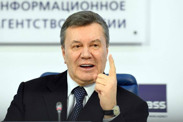 Ukraine's former president Viktor Yanukovych in Moscow last March but he has remained mostly out of view