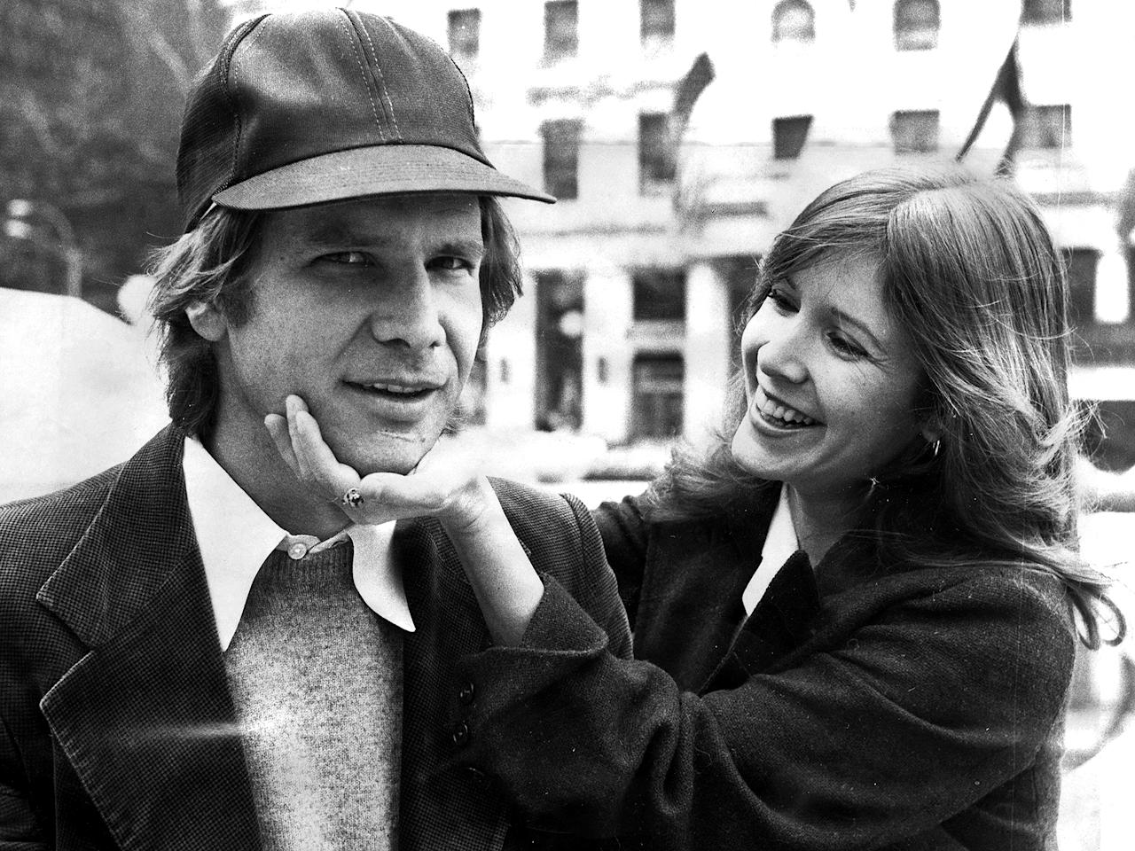Harrison Ford Breaks Silence on Carrie Fisher's Memoir Detailing Their Star Wars Affair