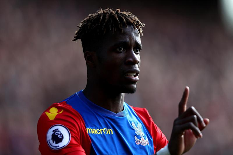 Za-ha! | The winger, contracted until 2020 has thrived back at Selhurst Park: Getty Images
