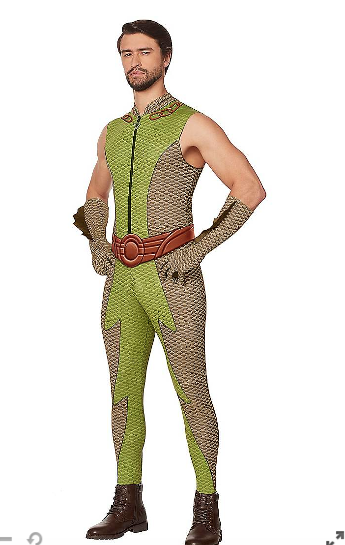 """<p>spirithalloween.com</p><p><strong>$49.99</strong></p><p><a href=""""https://go.redirectingat.com?id=74968X1596630&url=https%3A%2F%2Fwww.spirithalloween.com%2Fproduct%2Fhalloween-costumes%2Fmens-costumes%2Fmens-tv-movies-gaming-costumes%2Fadult-the-deep-costume-the-boys%2Fpc%2F4742%2Fc%2F683%2Fsc%2F687%2F218727.uts&sref=https%3A%2F%2Fwww.menshealth.com%2Fstyle%2Fg37180557%2Fpop-culture-halloween-costumes-for-men-2021%2F"""" rel=""""nofollow noopener"""" target=""""_blank"""" data-ylk=""""slk:Shop Now"""" class=""""link rapid-noclick-resp"""">Shop Now</a></p><p>Or be a slightly less terrible supe and go as the Deep.</p>"""
