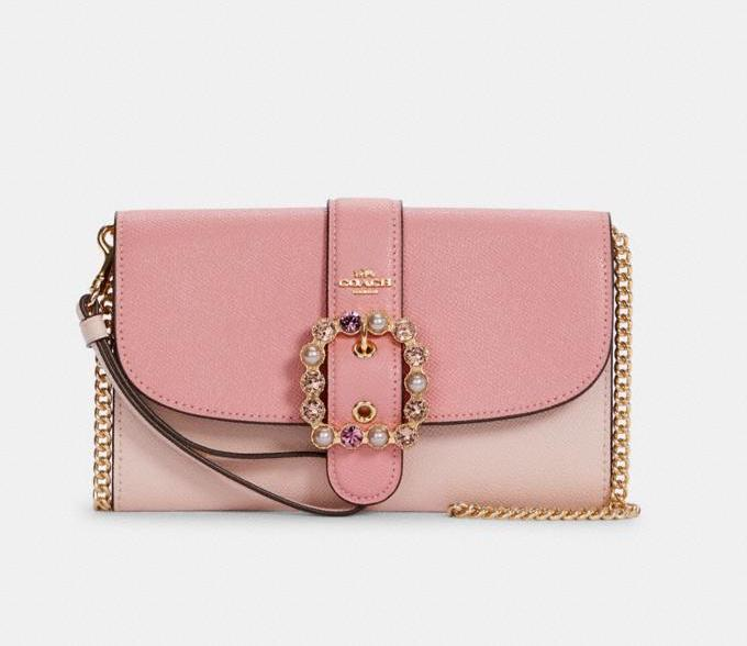 Gemma Clutch Crossbody In Colorblock. Image via Coach Outlet.