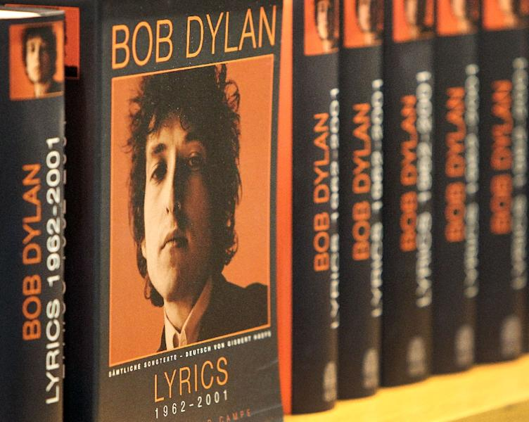 Bob Dylan was a surprise winner of the 2016 Nobel prize for literature (AFP Photo/AMELIE QUERFURTH)