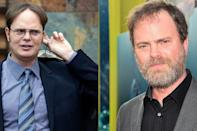 <p>He may look different without his center part, aviator glasses, and sideburns, but Rainn Wilson will always be our favorite for creating the character that is Dwight Schrute.</p>