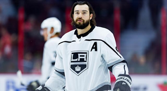 Much like the rest of his Kings teammates, Drew Doughty has struggled to start the season. (Getty)