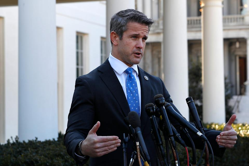 """They don't belong to us,"" Rep. Adam Kinzinger, R-Ill., says of the America First Caucus."