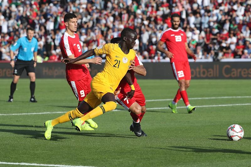 Former refugee Awer Mabil is an advocate for people with mental health problems