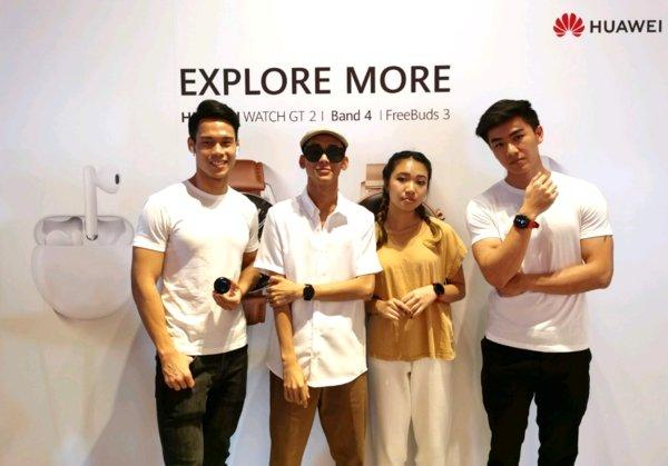 Huawei held its first ever APAC lifestyle showcase to introduce its upcoming lifestyle devices that will be released in Singapore soon.