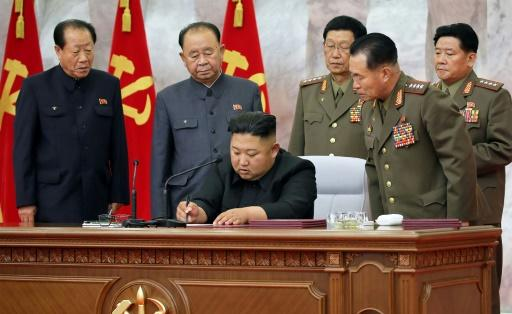Discussions at the Central Military Commission meeting also centred on 'putting the strategic armed forces on a high alert operation,' the official KCNA news agency said