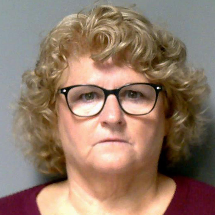 This photo provided by the Lansing Police Department shows former MSU women's gymnastics coach Kathie Klages, who was sentenced for lying to investigators in the Larry Nassar sexual-assault scandal. (LPD)