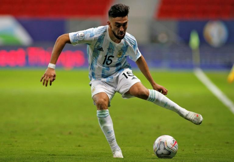 Nicolas Gonzalez won the Copa America with Argentina this summer after an injury-hit season with Stuttgart