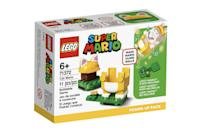 <p>The <span>Lego Super Mario Cat Mario Power-Up Pack</span> ($10, available Aug. 1) has 10 accessory pieces and is best suited for kids ages 6 and up. (It pairs with the Mario figure that comes in the <span>Lego Super Mario Adventures with Mario Starter Course</span>!)</p>